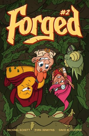 Cover of Forged issue 2