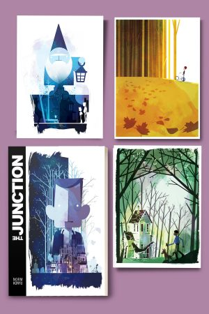 The Junction print set