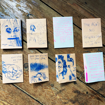 HOW TO BUILD A FREE WOMAN ZINES